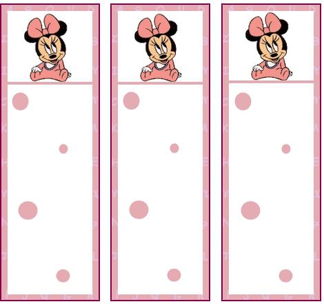 Motivos de Minnie bebé - Imagui